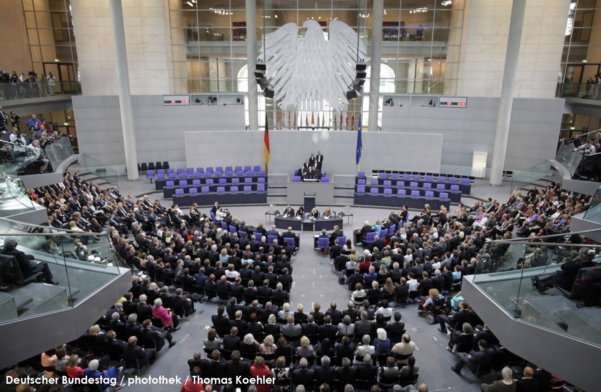 Deutscher Bundestag / Plenum