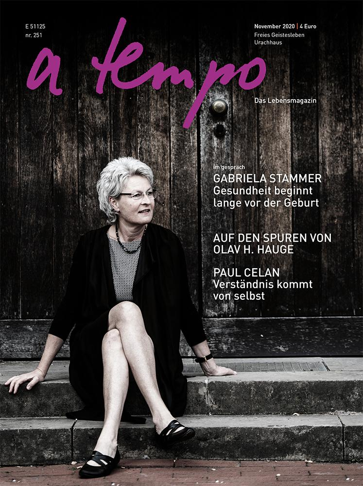 Cover Zeitschrift a tempo