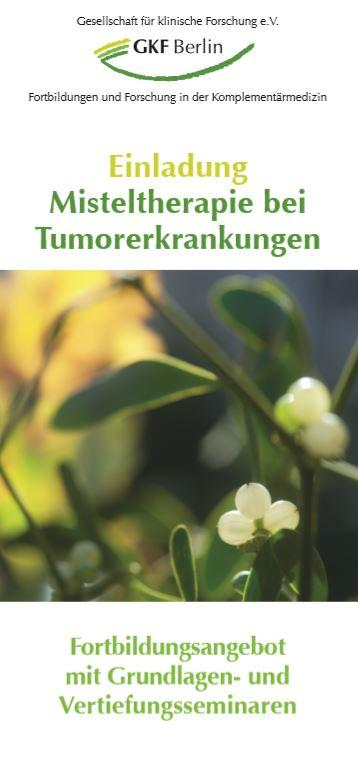 2018 GFK Misteltherapie Cover